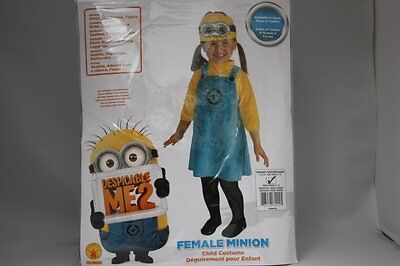 DESPICABLE ME 2 MINION DAVE CHILD HALLOWEEN COSTUME GIRL INFANT BABY 6-12 MTHS - Infant Minion Costume Despicable Me
