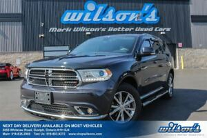2016 Dodge Durango LIMITED AWD! LEATHER! NAVIGATION! SUNROOF! RE