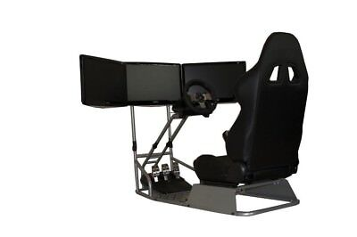 Gtr Simulator Gtsf Model Racing Cockpit Driving Simulator Gaming Chair G27 G29
