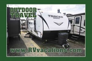 2018 FOREST RIVER Tracer 20RBS Ultra Lite Travel Trailer