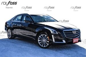 2015 Cadillac CTS Polished Alloys AWD Nav Roof Remote Start