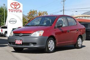 2004 Toyota Echo 1.5L FWD Air Conditioning/4 speed automatic