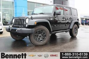2016 Jeep WRANGLER UNLIMITED Sport - Touch Screen, Hard and Soft