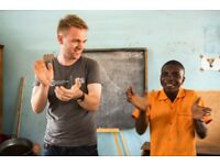 Volunteer in Africa on a UK Government funded placement in January