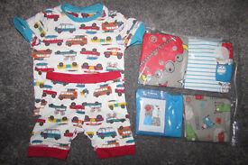 Bundle of PJ's NEW 9-12 months