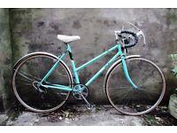 BSA SPORT, vintage ladies women's racer racing road bike, 20 inch, 5 speed, new tyres