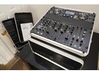 Pioneer MEP-7000 Controller + DJM 5000 Mixer + Citronic Flight Case