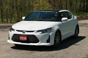 2014 Scion tC | Leather + Pano Sunroof + CERTIFIED