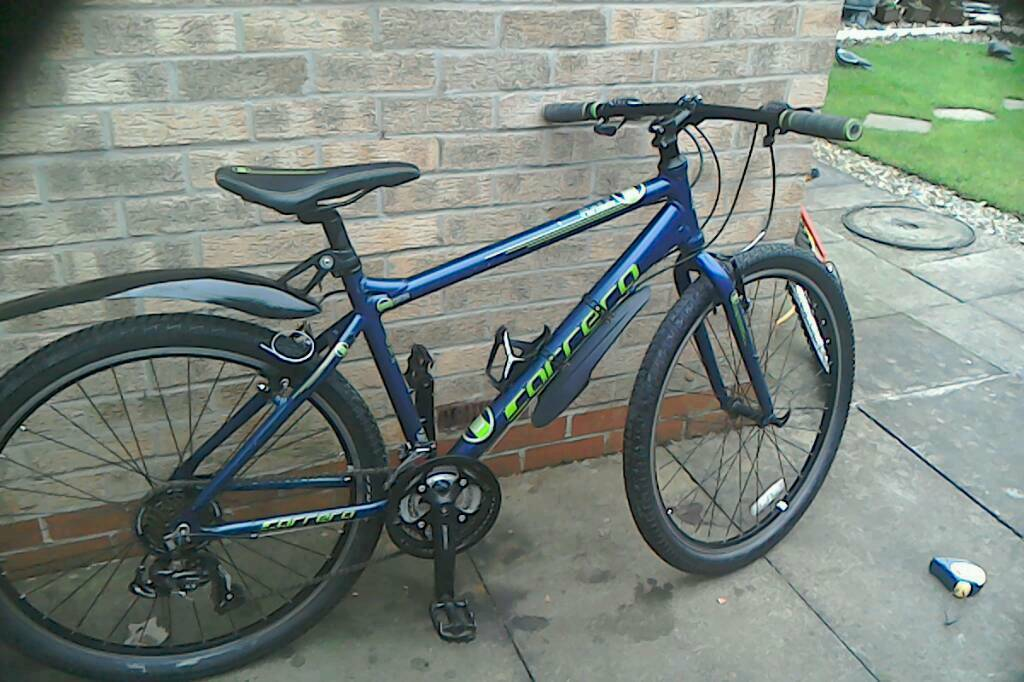 Carrera axle mountain bike
