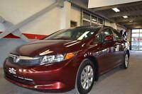2012 Honda Civic LX 42$/semaine