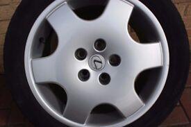 "Lexus 17"" alloys & tyres"