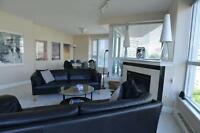 SEPT 2014! 1200SF Large 2BR Furnished+DEN, city water views #902