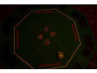 Texas Hold'em folding table top