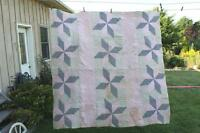 Old Utility Quilt - Suitable Only for Crafts or Projects