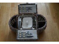 Quality Wicker Picnic Basket