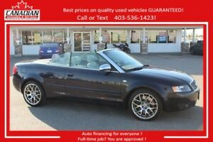2005 Audi S4 4.2 V8 FULLY LOADED POWER TOP LOW KMS 6 SPEED AWD