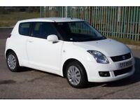 **£2450** 2010 WHITE Immaculate Suzuki Swift 1.3 SZ3