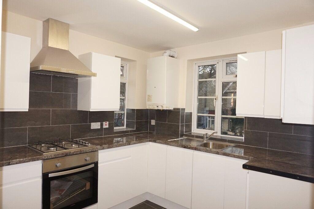 Completely refurbished modern 3 bedroom flat on Breamore Court, Breamore Road, Goodmayes IG3