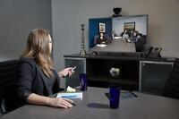 Downtown Meeting Room with video equipment & professional settin