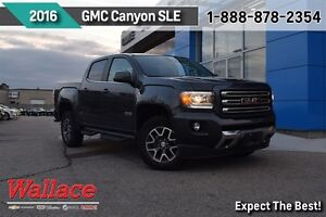 2016 GMC Canyon SLE ALL TERRAIN PACKAGE/1-OWNER/ LOCAL TRADE/LOA