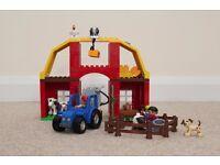 100% GENUINE 100% COMPLETE DUPLO LEGO BIG FARM TRACTOR ANIMALS FIGURES BARN DAIRY SET 5649