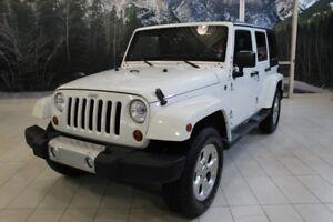 2013 Jeep Wrangler Sahara Plus 4x4
