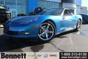 2010 Chevrolet Corvette 6.2V8 430 hp with Pwr Roof + Heated Leat