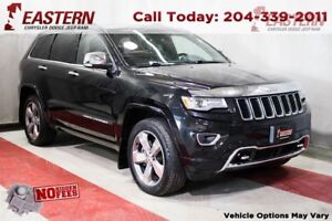 2014 Jeep Grand Cherokee OVERLAND 3.0L 4X4 ECO DIESEL *LOADED* T