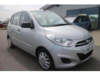 HYUNDAI I10 1.2 CLASSIC 5d 85 BHP *QUALITY & BEST VALUE ASSURED* (silver) 2012