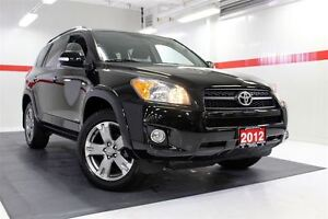 2012 Toyota RAV4 Sport 4WD Sunroof Btooth Cruise Alloys Pwr Wndw