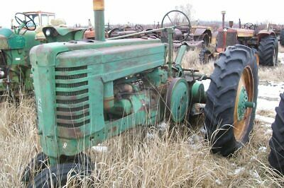 John Deere Styled A Tractor Sn 523370
