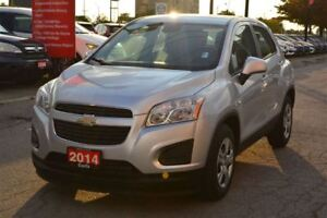2014 Chevrolet Trax LS/ LOW KM'S! MINT CONDITION!