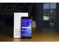 Samsung A3 2016 Unlocked NEW. Spigen case and accessories