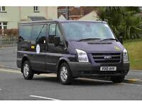 AIRPORT TRANSPORT AND LONG DISTANCE TRAVEL IN 8 SEAT MINIBUS FOR CHRISTMAS