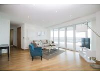 BRAND NEW LUXURY 35TH FLOOR 3 BED - ARENA TOWER/BALTIMORE TOWER E14 - HUGE TERRACE - CANARY WHARF