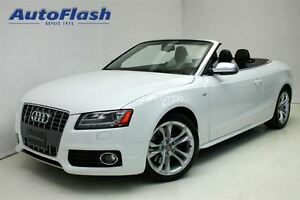 2012 Audi S5 Premium V6 3.0L Turbo! *Cuir blanc/White leather*