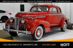 1939 Oldsmobile Club Coupe Two-time Award Winning Classic!