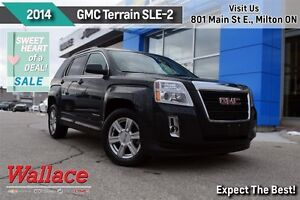2014 GMC Terrain SLE-2/1-OWNER/ACCIDENT-FREE/AWD/HTD SEATS/REAR