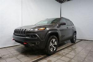 2014 Jeep Cherokee Trailhawk 4X4 CUIR, SIÈGE CHAUFFANT, JAMAIS A
