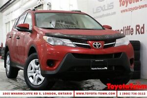 2013 Toyota RAV4 AWD LE UPGRADE BACKUP CAMERA & REMOTE START NEW