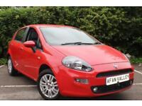 Fiat Punto Easy 5dr **NEW MOT+FINANCE AVALIBLE** (red) 2012