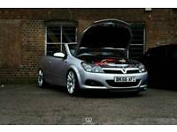 astra twintop vxr engine + interior.. lots of mods