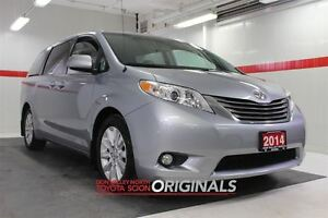 2014 Toyota Sienna XLE Heated Lthr Sunroof Btooth BU Camera Pwr