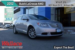 2012 Buick LaCrosse CXL/ULTRA-LUXURY AWD/SAFETY PKG/ROOF/LEATHER