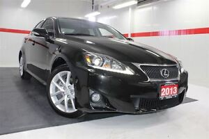 2013 Lexus IS 250 AWD NAVIGATION LEATHER SUNROOF BACKUP CAMERA