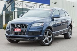 2015 Audi Q7 3.0T Sport Quattro Leather Panoramic roof Alloys N