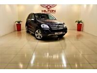 MERCEDES-BENZ M CLASS 3.0 ML350 CDI BLUEEFFICIENCY SPORT 5d AUTO 224 BHP (black) 2010