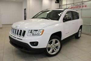 2011 Jeep Compass LIMITED / Leather / Nav / Sunroof