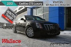 2013 Cadillac CTS LUXURY/HTD LTHR STS/ACDNT-FREE/REAR CAM/RMT ST