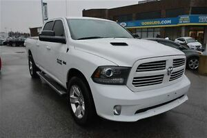 2014 Dodge Ram 1500 CREW CAB 4X4 SPORT, NAVIGATION, SUNROOF